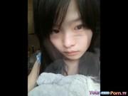 หลุดแคมฟลอคนักศึกษาเงี่ยน Webcam สาวไซด์ไลน์ 18+ ผิวขาวเนียน นมสวย หีอูมน่าเย็ดมาก