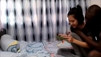 หลุดสาวไทยได้แฟนดำ!!! รู้ใช่ไหมว่าควยใหญ่ท่าจะอยากเสียวรีบพาขึ้นห้องหวังโดนเย็ดเลยเนี่ย
