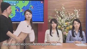 javสดจากญี่ปุ่น ตากล้องอดใจไม่ไหวขอเย็ดนักข่าวออกอากาศ ซอยหีจริงไม่มีคัท!
