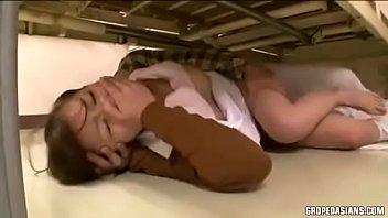 ข่มขืนพยาบาล เอาสดแหลกๆเย็ดจนครางแล้วปล่อยน้ำว่าวเข้าสู่รูหีสาว Hdav